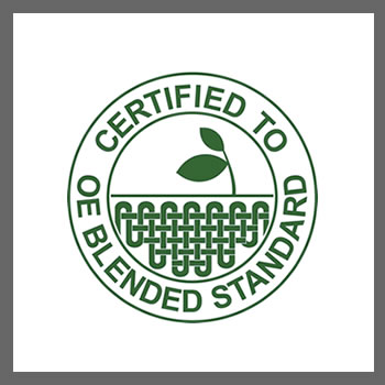 CERTIFIED TO OE BLENDED STANDARD